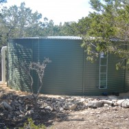 green storage tanks cost a bit more, though well worth the cost