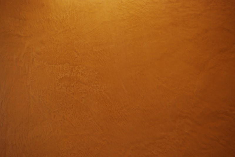 A clay wall showing color and texture